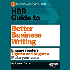 HBR Guide to Better Business Writing Hörbuch