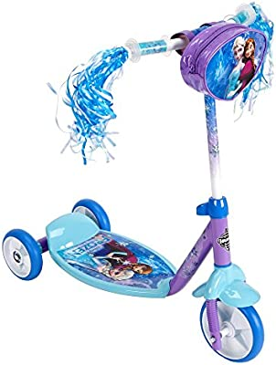 Amazon.com: Huffy Frozen de Disney Preschool 3-Wheel Kick ...