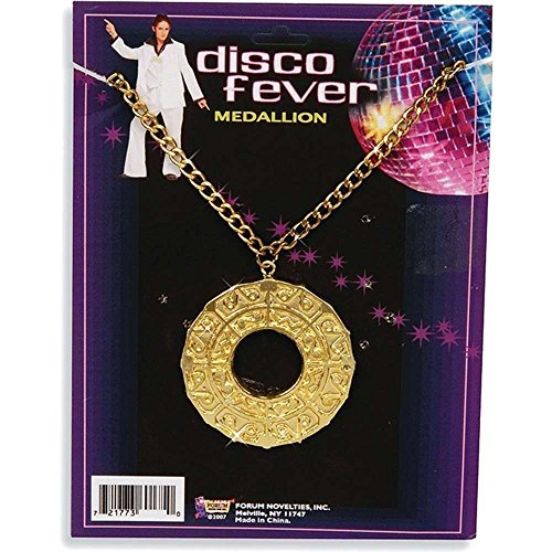 Forum Novelties Men's Disco Medallion