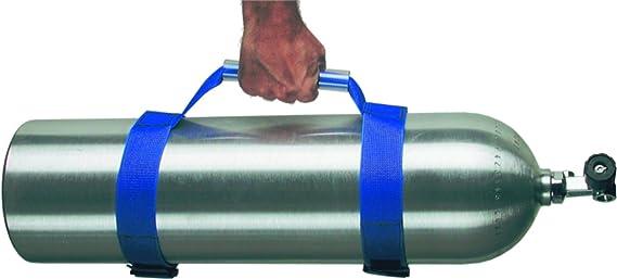 Tauchen verstellbarer Tank Zylinder Carrier Halter Strap mit Tragegriff,