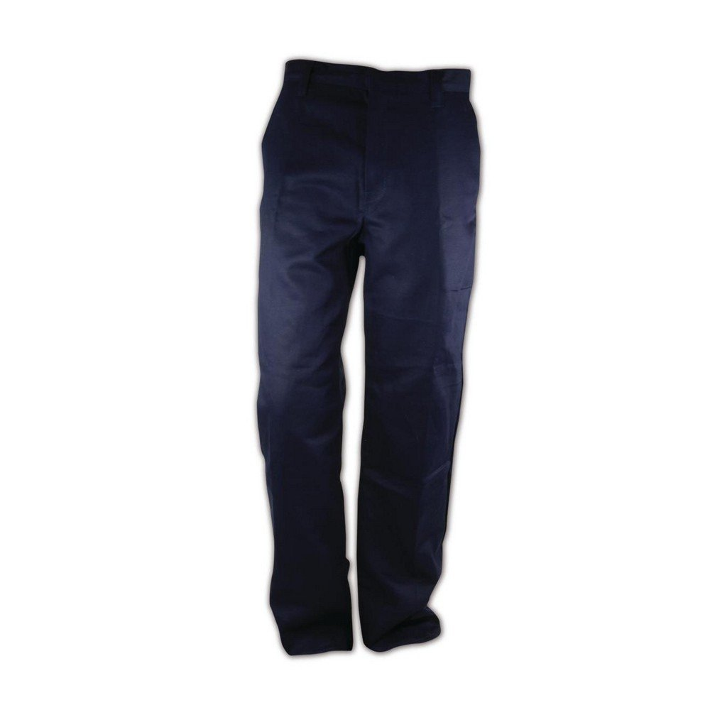 Magid Glove & Safety N1531RF-42X28 Magid N1531RF Arc-Rated 9.0 oz. 100% FR Cotton Relaxed Fit Heavy-Duty Pants, 46x30, Navy, 42x28