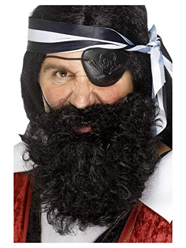 Deluxe Pirate Beard Costume Accessory -