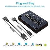 INDMEM SD Card Reader USB C OTG Memory Card Reader