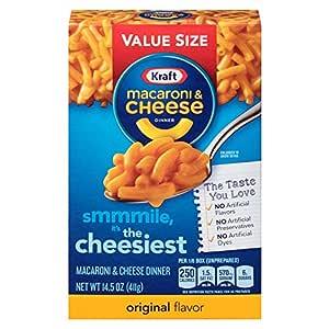Amazon.com : Kraft Macaroni and Cheese Dinner, Original ...