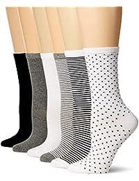 Women's 6-Pack Casual Crew Sock