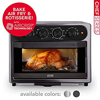 Image of DASH DAFT2350GBGT01 Chef Series Air Fry Oven, 23L, Graphite Home and Kitchen