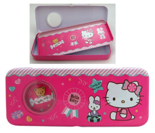 Candy for the Heart Hello Kitty Tin Pencil Box - Hello Kitty Pencil Box