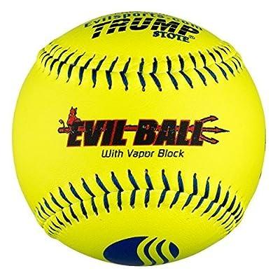 """1 Dozen Evil Ball USSSA 12"""" Softballs - 40cor/.325 Compression (MP-EVIL-CLAS-Y-2) Classic M by Trump/Evil Sports"""