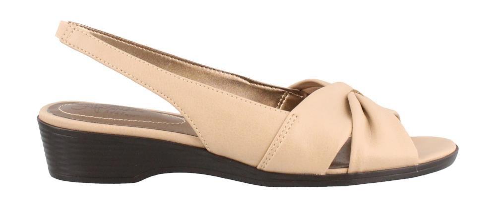 LifeStride Women's Mimosa 2 Flat Sandal, Tender Taupe, 7.5 M US