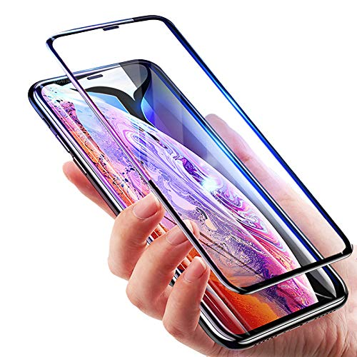 hot sale online 19bc7 bce5c 6D iPhoneX Tempered Glass, for iPhonex Screen Glass Protector, Relaxtoo  Apple 10 [6D Tempered Glass] Anti-Scratch, Ultra-Clear Screen Protector  Film ...