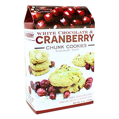 White Chocolate Cookie Mix - Too Good Gourmet Super Chunk Cookies | 6 ounces (White Chocolate Cranberry)