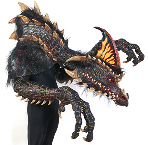 The Nightmare Collection - Smolder - The Black Dragon Adult Costume ()