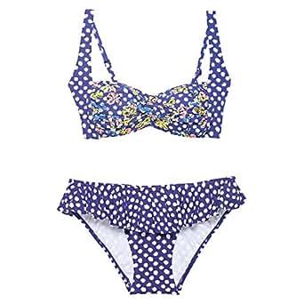 Beach Essentials Blueberry Bikini Set For Women