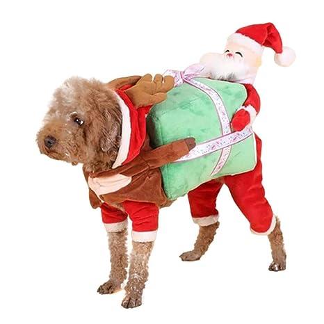 Lumon Mascota Navidad Trajes Perro Traje, Perro Mascota Papá ...