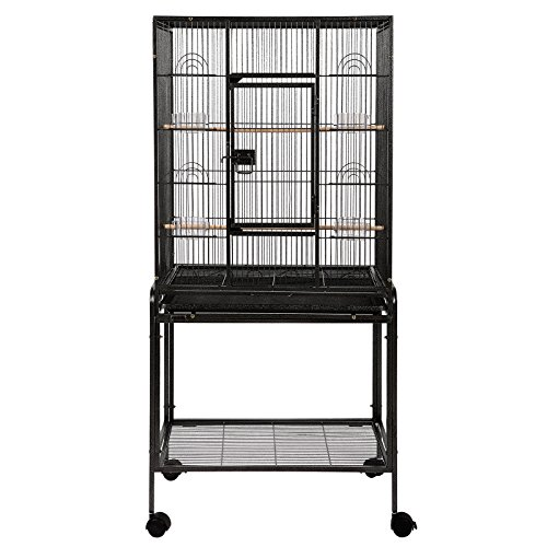 Large Brid Flight Cage Portable Parrot Cages Pet Supplies Birdcages Parrot Finch Macaw Cockatoo Larg
