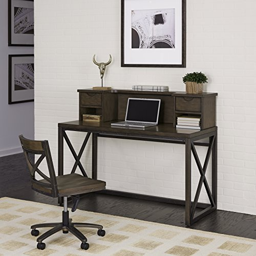 Home Styles 5079-1543 Xcel Office Desk with Hutch & Swivel Chair by Home Styles