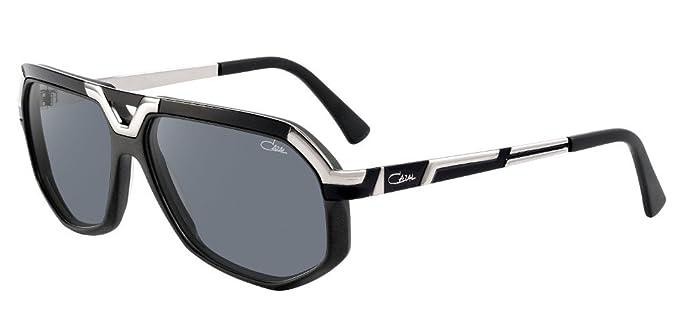 Amazon.com: Cazal 8021 Gafas de sol 002 mate BLACK-SILVER ...