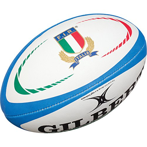 Italy Rugby Replica Rugby Ball - Size 5 by Gilbert