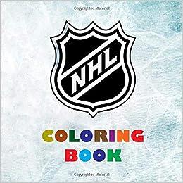 promo code 2de0b 25d35 NHL Coloring Book: Super book containing every team logo ...