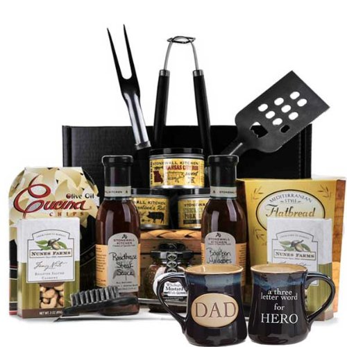 Fathers Day Gift Basket Ponderosa by Gift Basket