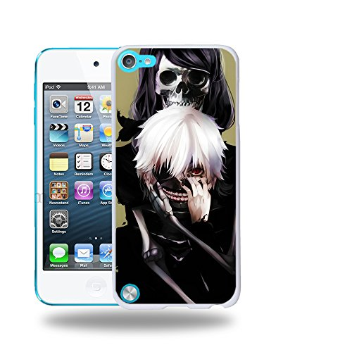 Case88 Designs Tokyo Ghoul Kaneki Ken Protective Snap-on Hard Back Case Cover for Apple iPod Touch 5
