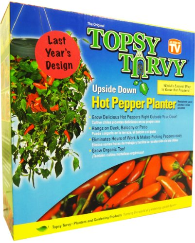 Topsy Turvy Hanging Pepper Planter