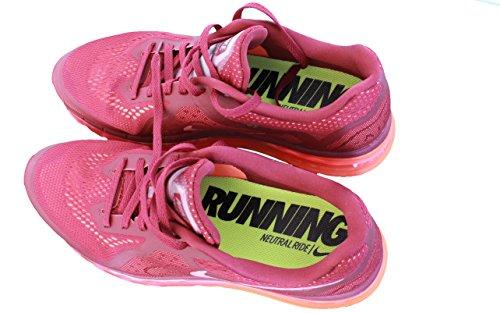 Nike Air Max 2014 Deep Granat Rot / Punch / Mango 621077-600 Herren Laufschuhe rot