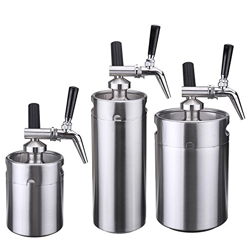 Nitro Cold Brew Coffee Maker,Yingte Mini Stainless Steel Keg Home Brew Coffee Cup System Kit(5L) by Yingte (Image #2)