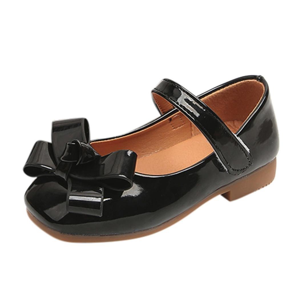 Zapatos Niña, Sandalias de niña Bowknot Sneaker para bebés Niños pequeños Zapatos ocasionales suaves casuales LMMVP