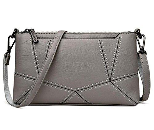 Lightgrey Shopping Shoulder tua Oblique Afferra Ladies Cross Bao Package Sei tracolla Bags Single semplice colori la Purple 0qacHAxP