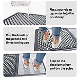 Disinfecting Shoe Mat for Entrance, Shoe Soles