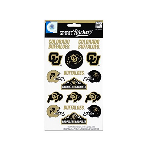 me & my BIG ideas Officially Licensed NCAA Spirit Stickers, Colorado
