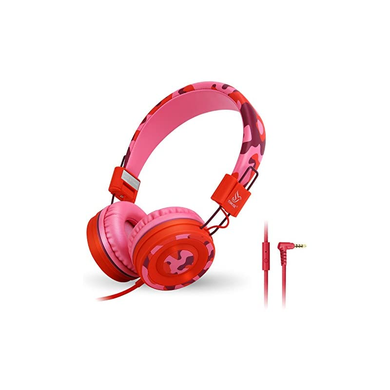 Yomuse C89 On Ear Foldable Headphones w/