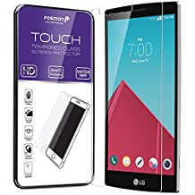 Fosmon Tempered Glass for LG G4 - Touch 0.20mm [Ultra Thin | Shatter Proof | Oleophobic Coating] HD Clear Glass Screen Protector for LG G4