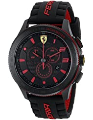 Ferrari Mens 0830138 Scuderia XX  Silicone Band Watch