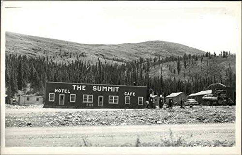 the-summit-hotel-cafe-alcan-highway-british-columbia-canada-original-vintage-postcard