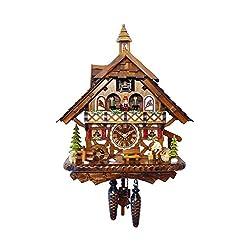 Alexander Taron Decorative Collectibles 4491QMT - Engstler Battery-operated Cuckoo Clock - Full Size