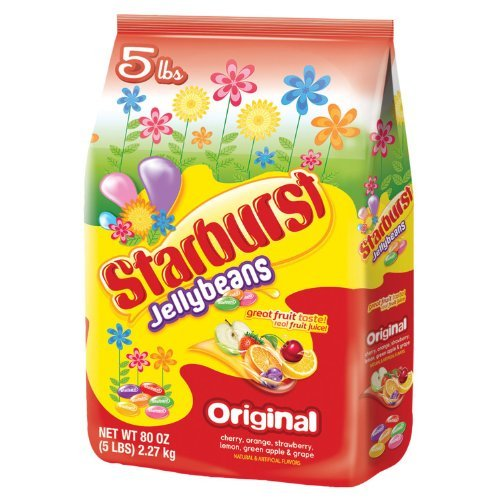 Starburst Jelly Beans - 5 pounds