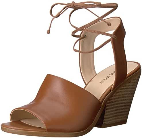 Nine West Women's Yanka Leather Dress Sandal
