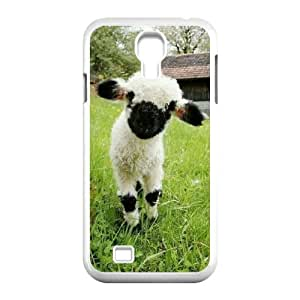 LZHCASE Sheep Diy Case Shell Cover For Samsung Galaxy S4 i9500 [Pattern-6]