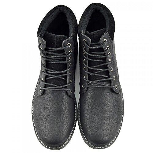 Kick Footwear - Náuticos para hombre negro