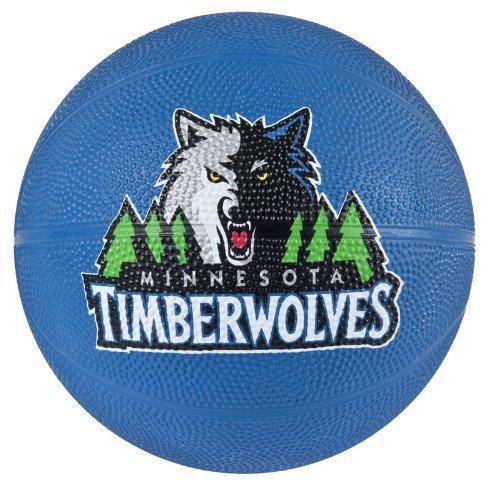 fan products of Spalding NBA Minnesota Timberwolves Mini Rubber Basketball