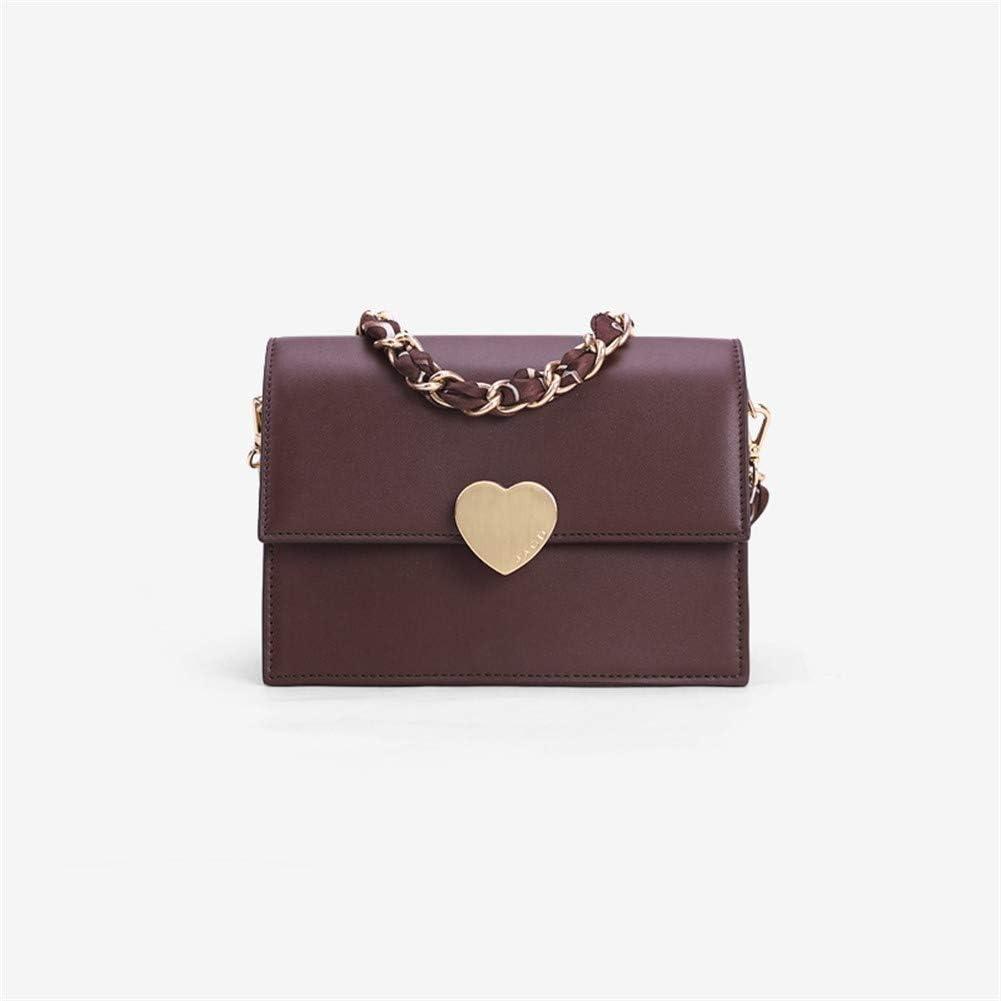 JIASHANHAO Love Buckle Vintage Scarf Chain Underarm Bag Color : A
