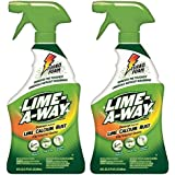 Lime-A-Way Lime Calcium Rust Cleaner, 22 oz (Pack of 2) (1147)