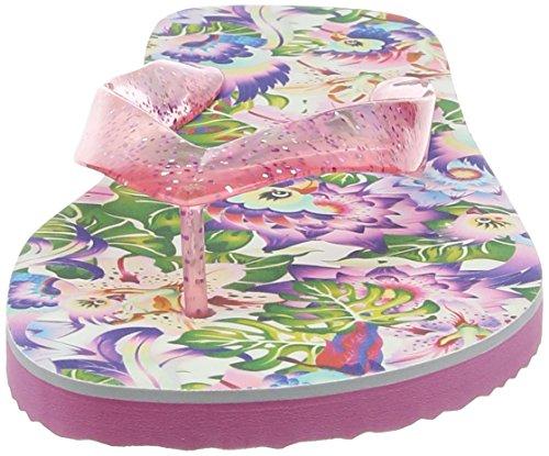 Irregular Choice Damen Tropical Flip Sandalen Multicolour (Pink Multi)