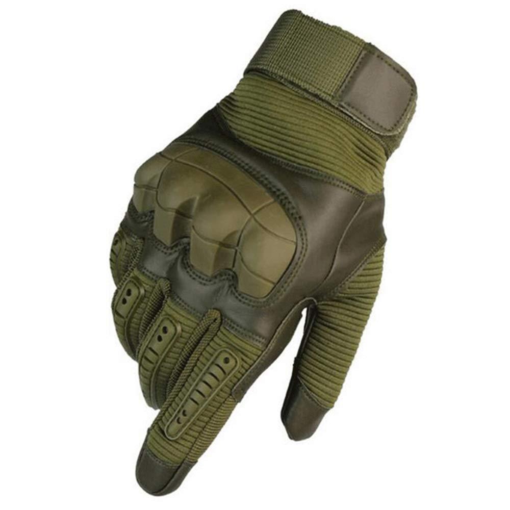 GXY Handschuhe, Anti-Fall, Fingerspitzen, Fingerlose Handschuhe Handschuh (Farbe : Grün, größe : L)