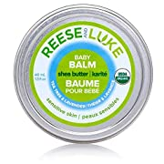 Reese and Luke's - Shea Butter Baby Balm, 1.3oz, Tea Tree and Lavender Scented -- Diaper Cream - Natural Certified Organic