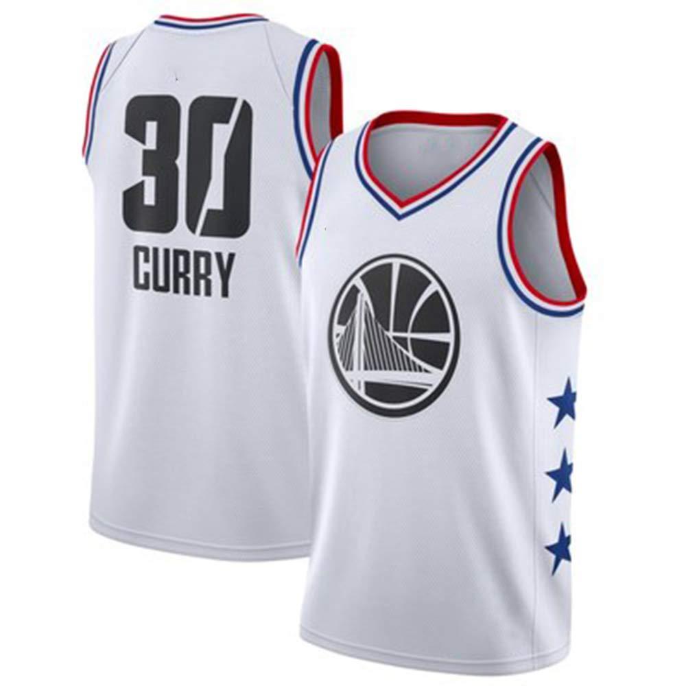 blanc(b) L Top Qualité Guerriers 30 Curry Basketball Jersey Uniformes Sports Chemises De Basket-Ball Cousu Hommes City Edition