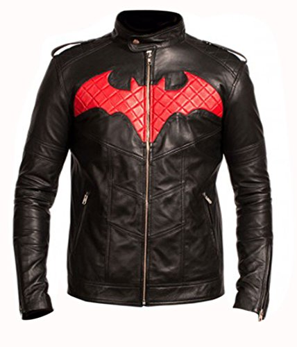 Batman Knight Costume Leather Jacket