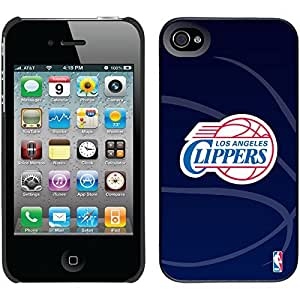 La Clippers - Bball Watermark design on Black iPhone 5c Thinshield Snap-On Case